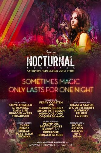 Nocturnal Festival 2010 - Southern California