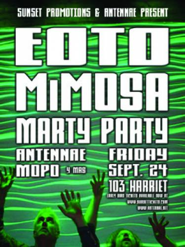 EOTO, Mimosa, & Marty Party @ 103 Harriet (9/24)