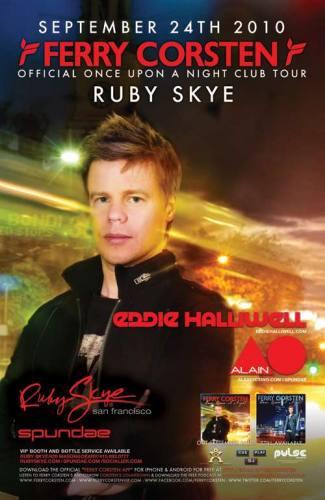 Ferry Corsten & Eddie Halliwell @ Ruby Skye