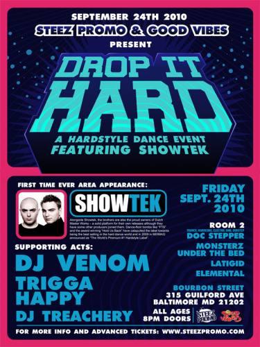 Drop it Hard featuring Showtek