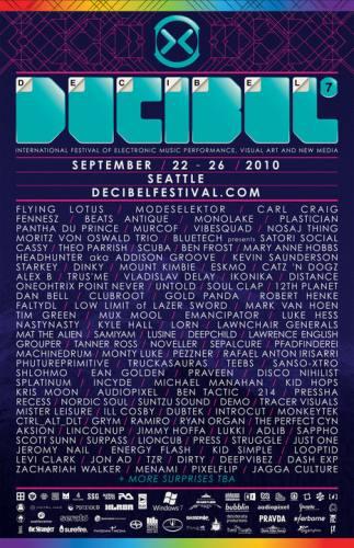 Decibel Festival - Ghostly Intl Showcase