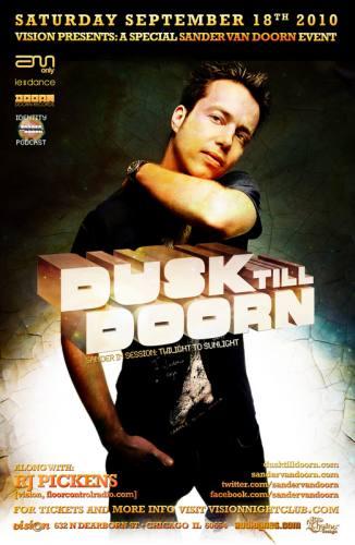 DUSK TILL DOORN: a Sander Van Doorn special event!