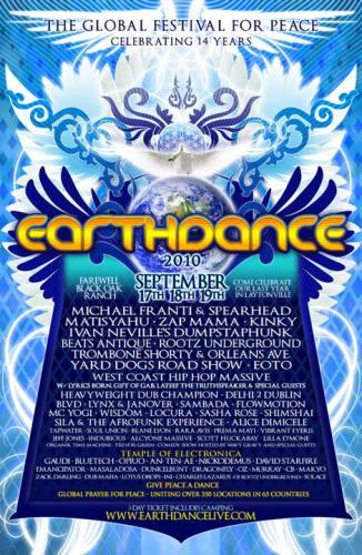 Earthdance Laytonville 2010