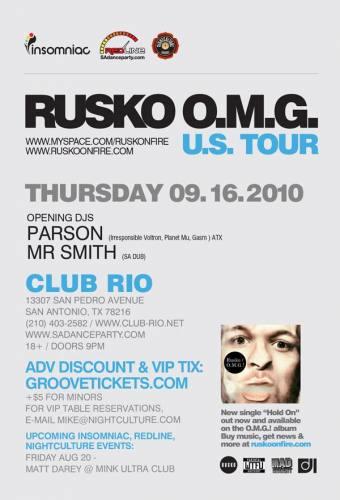 Rusko @ Club Rio