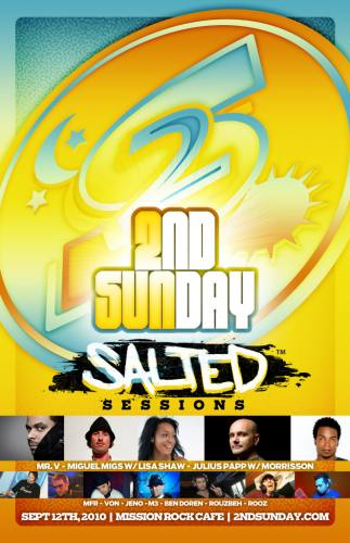 2nd Sunday - Salted Sessions