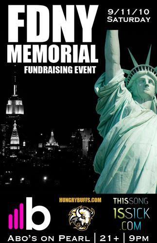 FDNY Fundraiser - September 11th