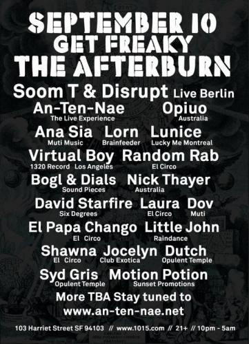Get Freaky: The Afterburn 2010