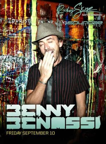 Benny Benassi @ Ruby Skye
