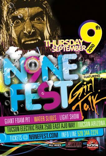 N9NE Fest Featuring Girl Talk