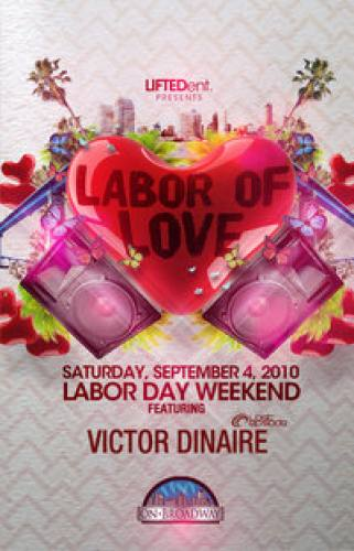 LABOR OF LOVE W/ VICTOR DINAIRE