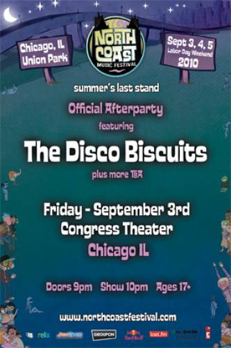 NCMF AFTER PARTY: DISCO BISCUITS - CONGRESS