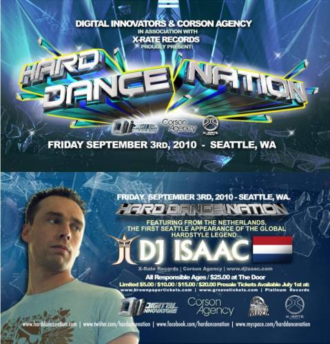 Hard Dance Nation w/ DJ Isaac