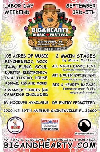 BIG & HEARTY MUSIC FESTIVAL