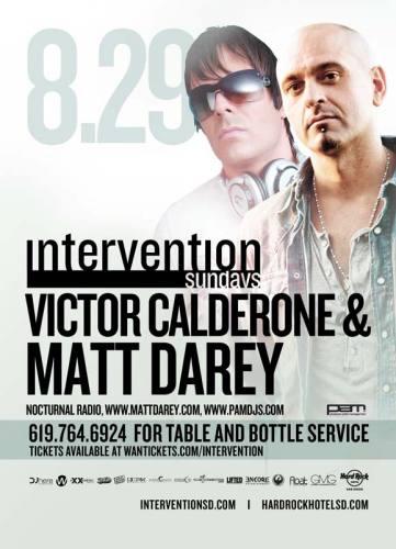 MATT DAREY & VICTOR CALDERONE @ Hard Rock - SD