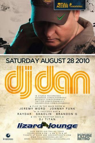 DJ Dan @ Lizard Lounge