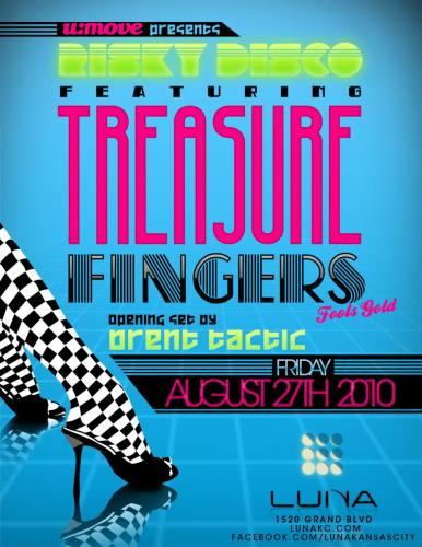 Luna and U:Move present Risky Disco featuring Treasure Fingers