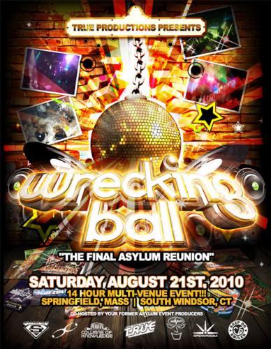 WRECKING BALL:  The FINAL Asylum Reunion