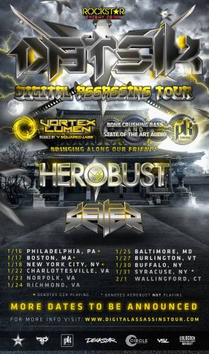 Datsik @ Baltimore Soundstage (01-25-2014)
