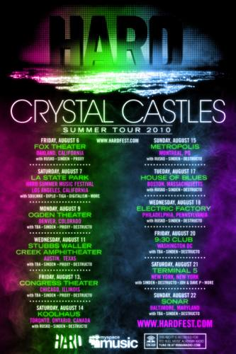 HARD Summer with Crystal Castles @ Electric Factory