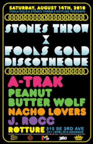 Stones Throw x Fool's Gold Discotheque @ Rotture