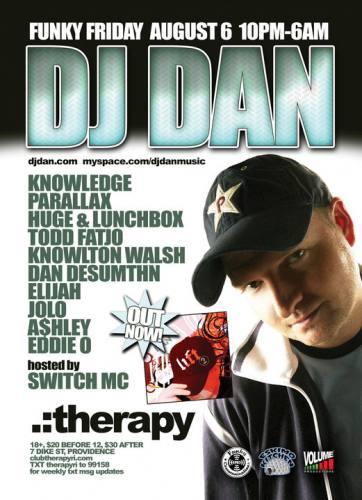 DJ DAN at Therapy