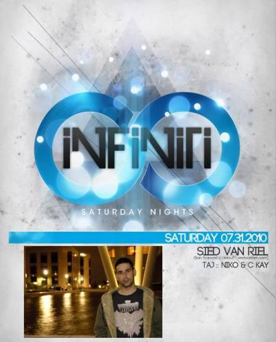 INFINITI Presents - Sied Van Riel