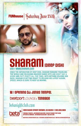 Sharam @ Beta