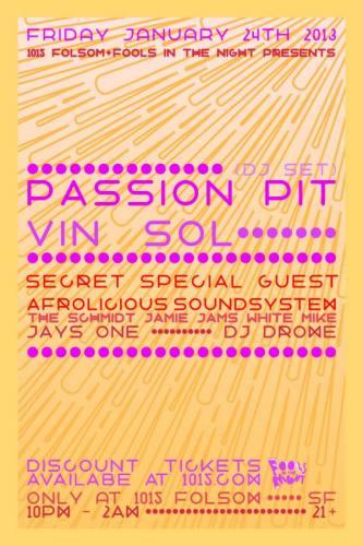 Passion Pit DJ Set