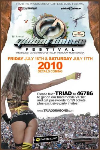 8th Annual Global Dance Festival - Red Rocks (7/17)
