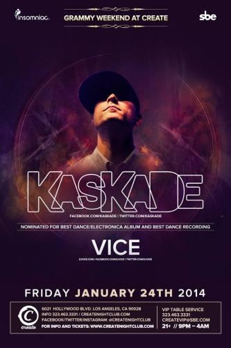 Kaskade & Vice at Create Nightclub