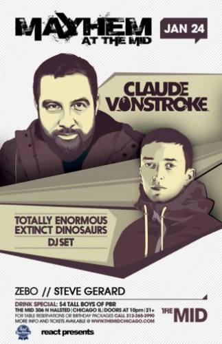 1.24 CLAUDE VONSTROKE - TEED (DJ) - MAYHEM