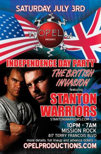 Independence Day Party (At Night) :  The British Invasion
