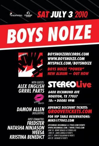 Boys Noize @ Stereo Live