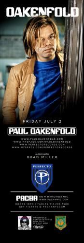 Paul Oakenfold @ Pacha