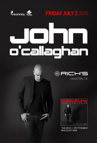 John O'Callaghan @ Rich's