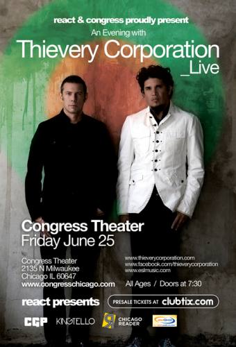 Thievery Corporation @ Congress