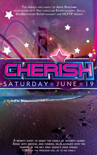 CHERISH - a benefit event for the family of Arnie Benson