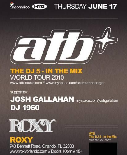 ATB @ Roxy Nightclub