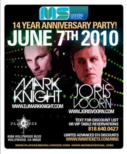 Monday Social 14 Year Anniversary Party