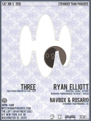Three (NY) and Ryan Elliott (Detroit) at The Loft