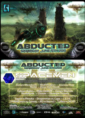 ABDUCTED @ Afterlife
