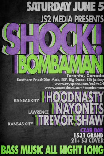 SHOCK! w/ Bombaman
