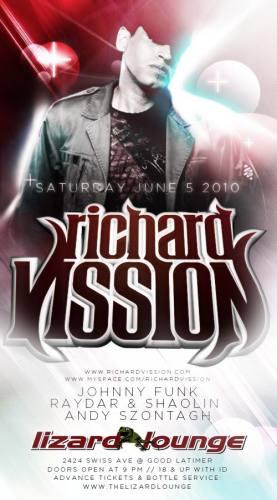 Richard Vission @ Lizard Lounge