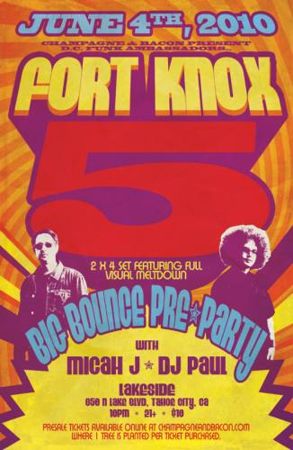 Big Bounce Pre-Party w/ Fort Knox Five