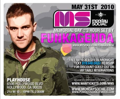 Funkagenda @ Playhouse
