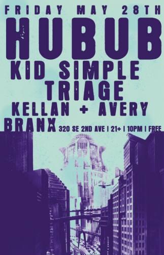 FREE///KID SIMPLE, TRIAGE, KELLAN & AVERY