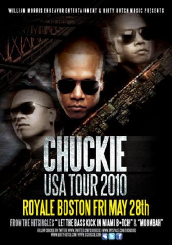 DJ Chuckie @ Royale
