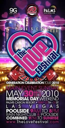 The Love Festival Las Vegas 2010