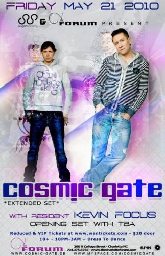 Cosmic Gate @ The Forum