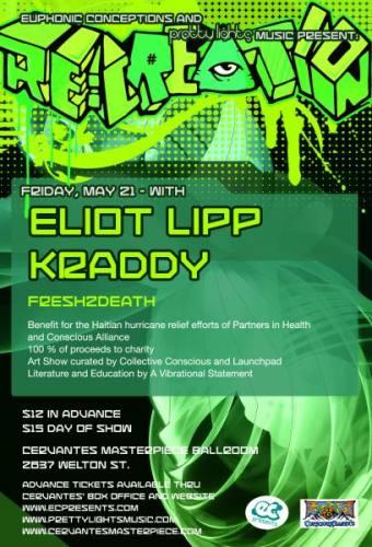 Eliot Lipp, Kraddy & more @ Cervantes
